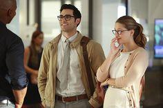 Supergirl season 2 photos feature Lena Luthor, Clark Kent | EW.com