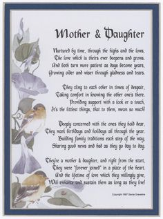 20 Best Mother And Daughter Quotes quotes quote kids mom mother daughter family quote family quotes children mother quotes daughters Mom Poems From Daughter, Happy Birthday Mom From Daughter, Love My Daughter Quotes, To My Daughter, Daughters, Mother Poems, Mother Quotes, Mom Quotes, Quotes For Kids