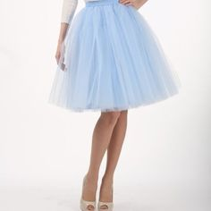 blue tulle skirt for women, tutu skirts for women