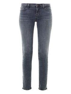 J Brand 811 Photo Ready mid-rise skinny jeans MATCHESFASHION.COM #MATCHESFASHION