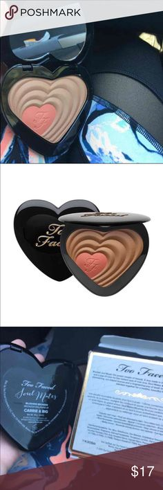 Too faced soul mates blush/bronzer brand new Brand new includes box! 100% authentic. Came from sephora!! Too Faced Makeup Blush