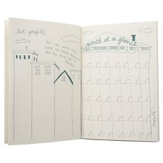 fun way to make lists {The Non-Planner Datebook by Keri Smith}