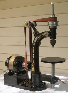 Antique Tools, Drill Press, Drills, Workshop, Antiques, Storage, Color, Ideas, Drill