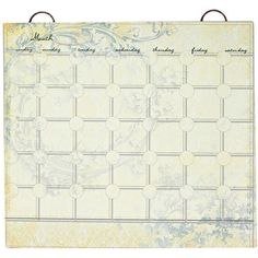 I pinned this Toile Calendar Set from the Lone Elm Studios event at Joss and Main!
