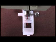 1-Step Mechanical Buttonhole Presser Foot Tutorial  Add cording to the stitches to make more sturdy. Use a pin when opening button hole with seam ripper! Genius!