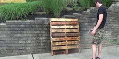 Instructions On How To Make A DIY Pallet Wine Rack