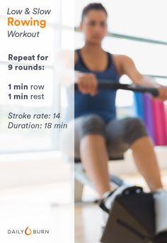 18-Minute Low and Slow Rowing Workout