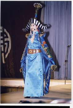 Fashion show of traditional Mongolian clothes. www.mongoliansecrethistory.mn