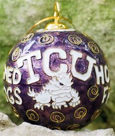 TCU ornament, can be customized