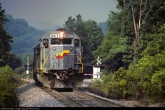 RailPictures.Net Photo: SBD 8613 Seaboard System EMD SD50 at Irondale, Virginia by Ron Flanary