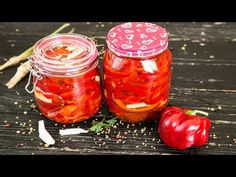 site cu retete culinare Fall Recipes, Pickles, Salsa, Jar, Stuffed Peppers, Vegetables, Youtube, Autumn, Food