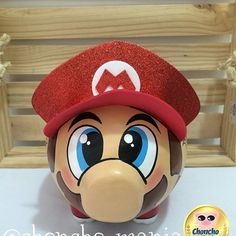 Resultado de imagen para alcancias personalizadas Mario And Luigi, Mario Bros, Pig Bank, Color Me Mine, Mario Party, This Little Piggy, Mario Brothers, Animals And Pets, Creatures