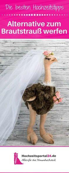 Die witzige Alternative zum Brautstrauß werfen - ein Brautstrauß der etwas anderen Art... #diy #bastelanleitung #hochzeit