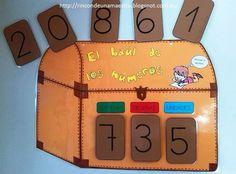 Para trabajar la numeración en primer ciclo pienso que es importante utilizar soportes que capten la atención del alumnado y que les ayuden ... Pirate Activities, Activities For Kids, Ludo, Dora, School Subjects, Place Values, Lunch Box, Maths, Gabriel