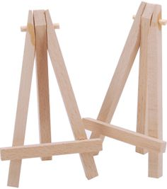 wood tabletop easel standard tripod design x natural crafty bastards booth. Black Bedroom Furniture Sets. Home Design Ideas