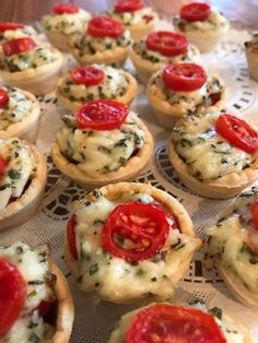 Baby Tomato Pies - Catering by Debbi Covington - Beaufort, SC