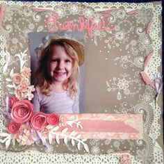 THANKFUL - $15. This beautiful kit has flowers in it that you will be making yourself.  Contact Deborah kitsandbits1@gmail.com Step By Step Instructions, Thankful, Scrapbooking, Kit, Make It Yourself, Flowers, How To Make, Beautiful, Florals