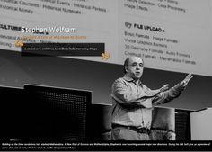 Stephen Wolfram, The Next Web 2013 - Visual storyboard door Bibi Veth