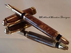 Brown Mallee Wooden Fountain Pen