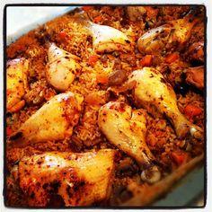 עוף באורז. מעולה