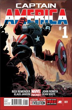 Captain America #1 by Remender & Romita Jr. Debuts in November