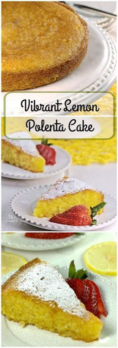 Vibrant Lemon Polenta Cake is a delicious, elegant, gluten free dessert. Simple…