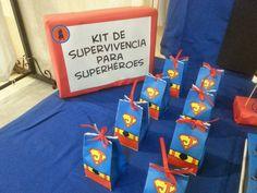 fiesta infantiles de superman decoracion - Buscar con Google