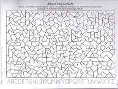School Worksheets, Worksheets For Kids, Geometric Coloring Pages, Montessori Art, Learn Portuguese, Vision Therapy, Preschool Letters, Baby Education, Early Literacy