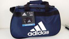 """NWT ADIDAS Diablo Small II Duffel Bag Collegiate Navy Sport Gym 18.5"""" x 11"""" x10"""" #adidas #ebay #adidas #DiabloSmall"""