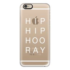 iPhone 6 Plus/6/5/5s/5c Case - HIP HIP CLEAR ($40) ❤ liked on Polyvore