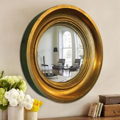 Vogue Classic Mirror - Golden,Mirrors