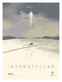 Interstellar IMAX Poster Giveaway