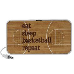 Plug in your creativity with this custom portable speaker! The Doodle speaker is a light and durable hard-plastic speaker with a vibrantly printed fabric face cover and kickstand for easy propping.  #basketball #Doodle #speaker