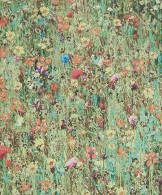 Liberty Art Fabrics Grass Mawston Meadow Wallpaper   Home   Liberty.co.uk