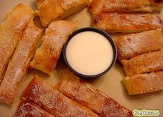 Dominos Cinnastix  You don't need to call for take out to enjoy these cinnastix. You can make them at home.    Ingredients    1 package pizza mix, or your favorite recipe  1/4 cup melted butter (they don't use butter, you can use margarine)  1/2 cup sugar  2 teaspoons cinnamon  Icing  1 pound powdered sugar  1 tablespoon milk  1 tablespoon melted