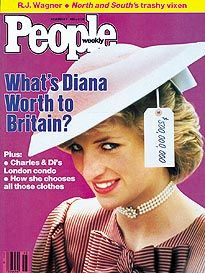 Princess of Wales - Cover of People Magazine