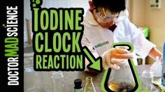 Clock Iodine Reaction! a very cool experiment! but only do this with an adult. I liked this one!
