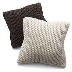 Holden Brown Floor Pillow by Crate and Barrel