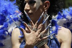 Gay Pride Parade in Mexico City, June 2, 2012. (Photo: Henry Romero / Reuters)  http://newsfeed.time.com/2012/06/13/lgbt-pride-celebrations-around-the-world/#ixzz2vPwo34Aw