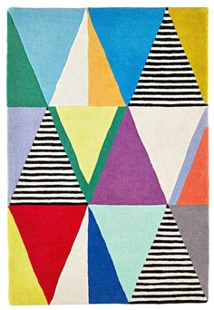 I really like this print & pattern the style reminds me of geometrical abstraction art