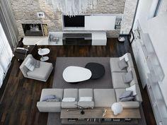 Decoholic » Contemporary Interior by Azovskiy and Pahomova Architects