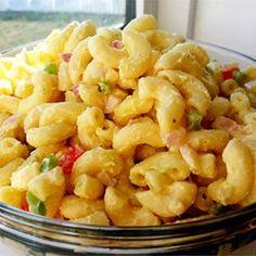 Classic Macaroni Salad Allrecipes.com
