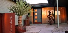 mid century modern ranch house - Google Search
