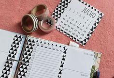 {Download} Planner Semanal: 2 modelos lindos - Na Estante Download Planner, Printable Planner, Planner Stickers, Free Printables, 2017 Planner, Life Planner, Bff, Agenda Organization, Commonplace Book
