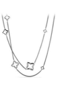 David Yurman 'Quatrefoil' Chain Necklace | Nordstrom