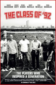 "Manchester United ""The Class of 92′"" Documentary Poster!!"