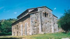 San Pedro de Nora, Asturias, construida durante el reinado de Alfonso II el Casto.