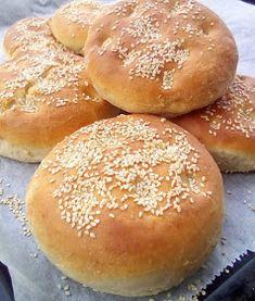 Tym razem z wiśniami / Buns with cherries . Bread Recipes, New Recipes, Biscotti Cookies, Bread Rolls, Dessert Recipes, Desserts, Bread Baking, I Love Food, Food Porn