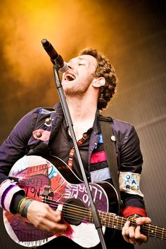 Chris Martin. The other one, who sings.