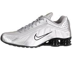 Nike Shox R4 Metallic Silver/Black